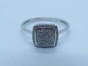 Zlatý prsten s briliantem bílý (6)