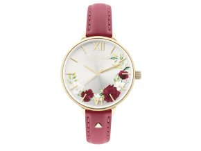 SUNDAY ROSE CARMINE LEATHER SUN-S21