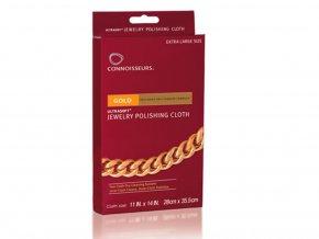 Connoisseurs čistící utěrka pro zlaté šperky CN 1031AU