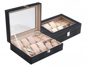 Šperkovnice na hodinky a šperky SP-1814/A14