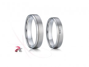 Ocelové snubní prsteny - 009 - Evžen a Taťána