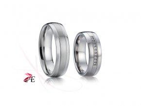 Ocelové snubní prsteny - 015 - Odysseus a Penelope