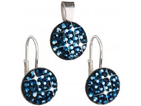 SOUPRAVA SE SWAROVSKI ELEMENTS 39086.3 METALIC BLUE