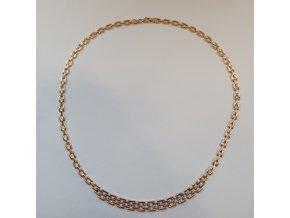 Zlatý náhrdelník - žlutý