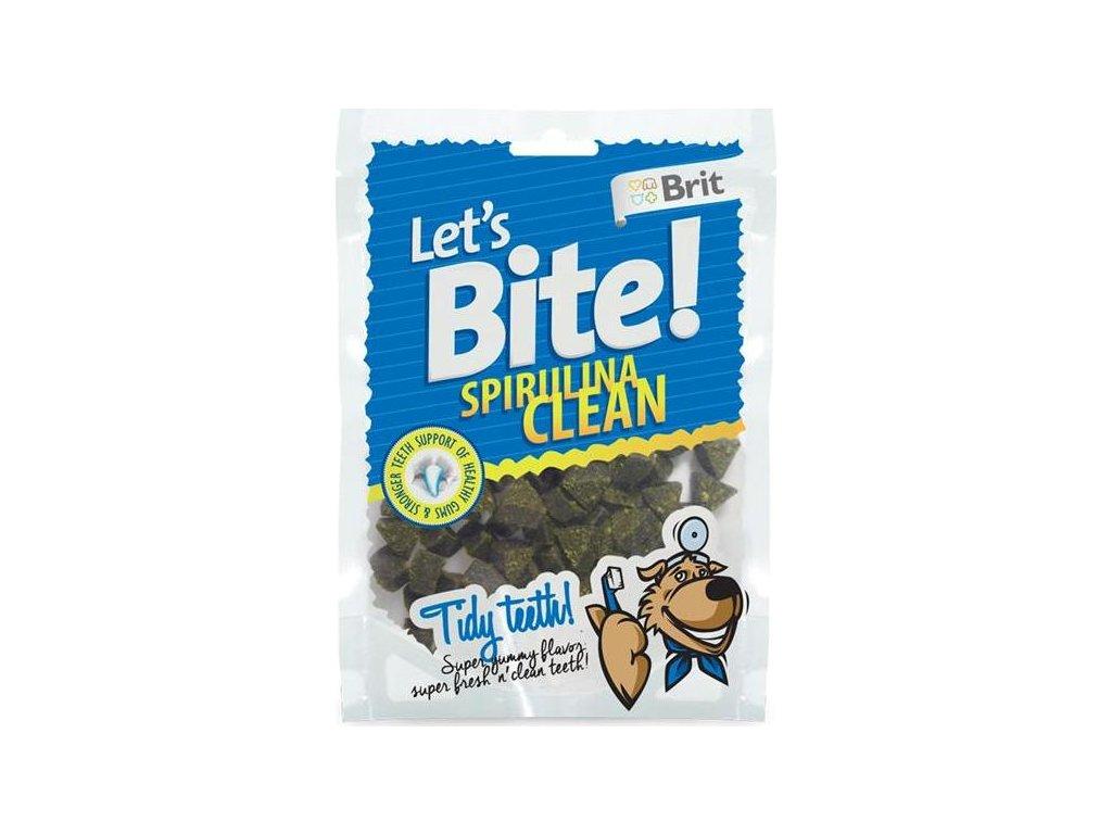 Brit Care DOG Let´s Bite Spirulina Clean NOVÝ 150 g