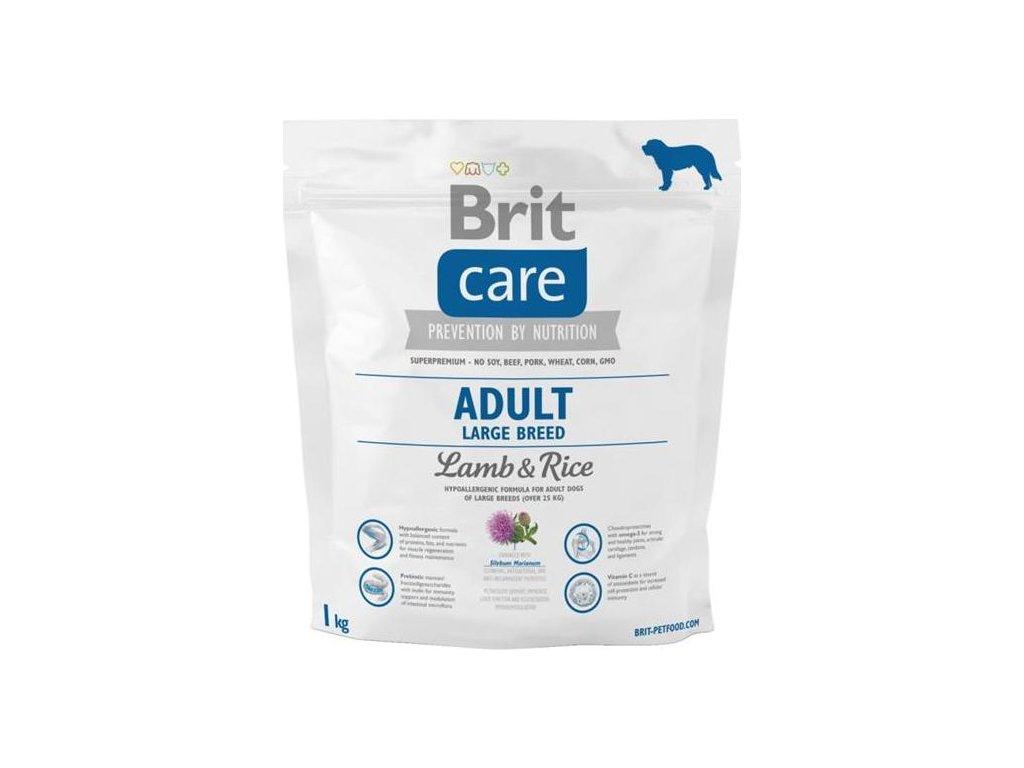 Brit Care Dog Adult Large Breed Lamb & Rice NOVÝ 1 kg