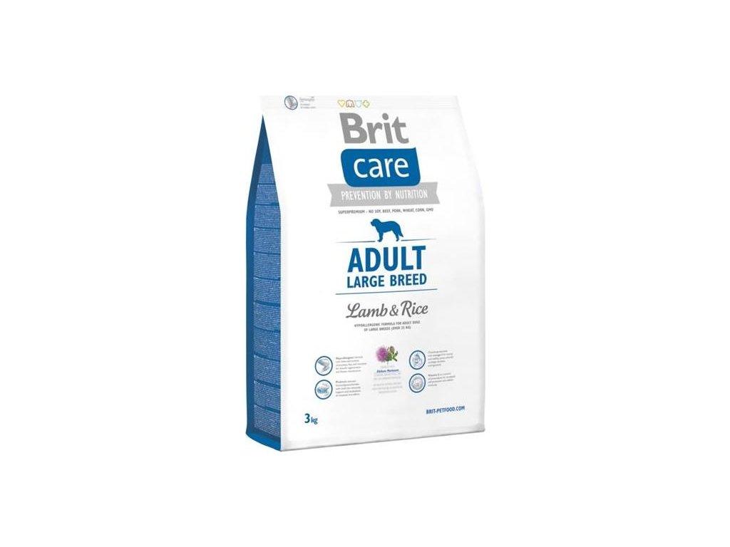 Brit Care Dog Adult Large Breed Lamb & Rice NOVÝ 3 kg