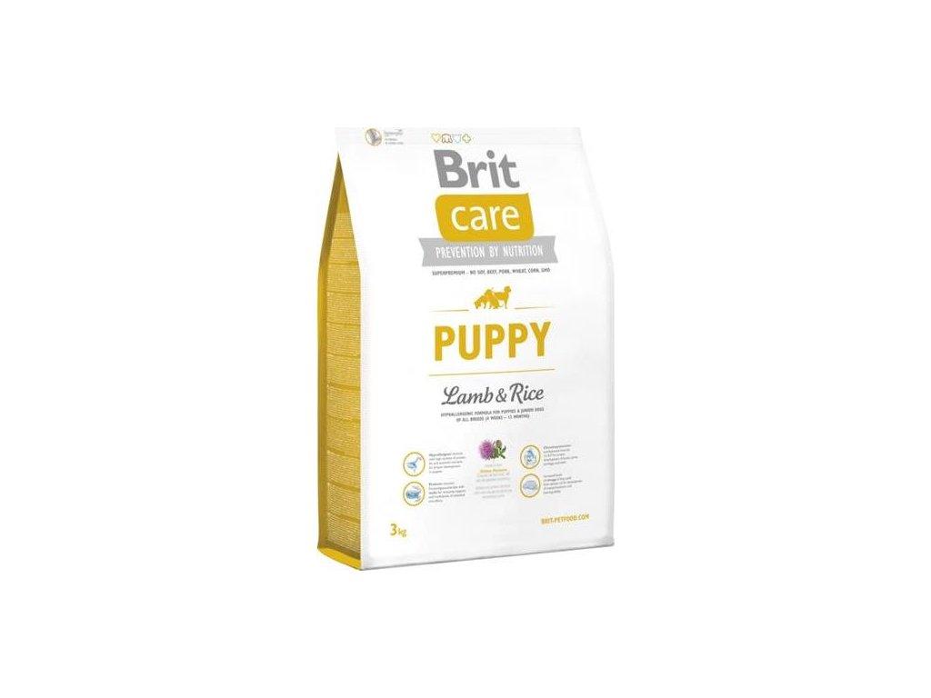 Brit Care Dog Puppy Lamb & Rice NOVÝ 3 kg