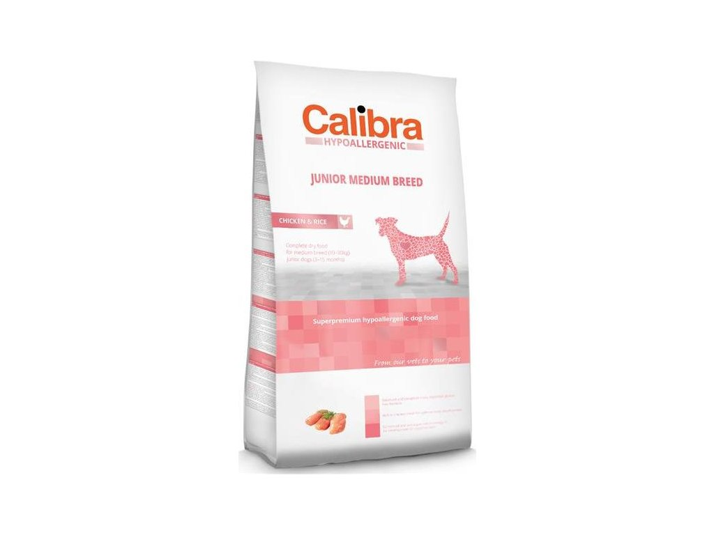 Calibra Dog HA Junior Medium Breed Chicken NOVÝ 3 kg