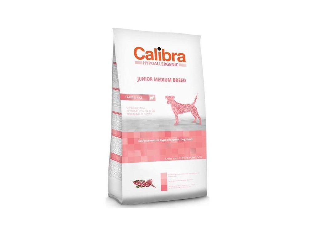 Calibra Dog HA Junior Medium Breed Lamb NOVÝ 14 kg