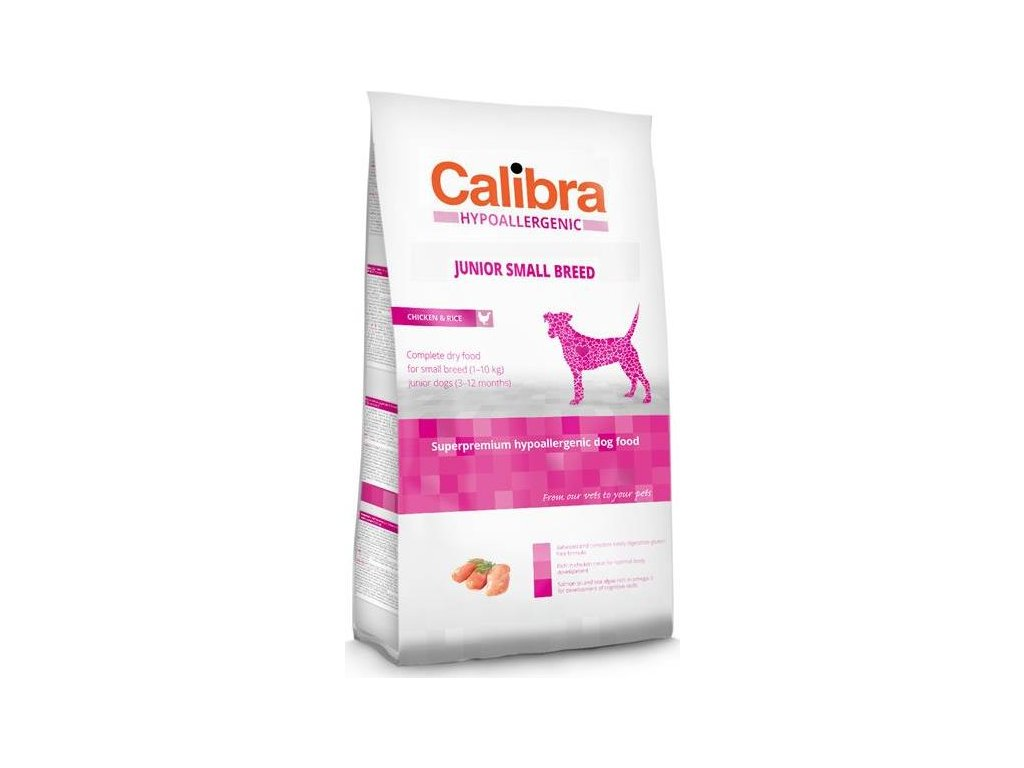 Calibra Dog HA Junior Small Breed Chichen NOVÝ 2 kg