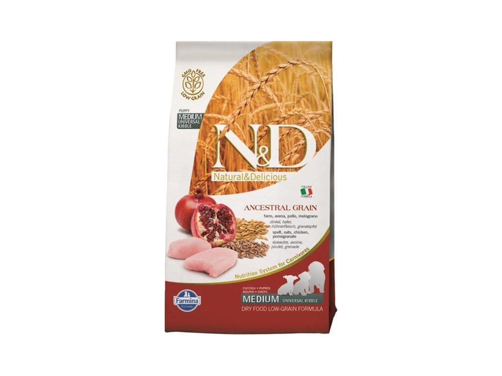 N&D Low Grain Dog Puppy Chicken & Pomegranate 0,8 kg