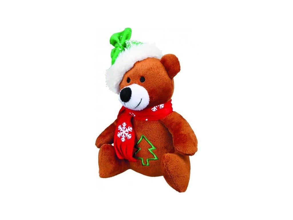 Vánoční plyšový Santa, sob, mědvěd 20 cm
