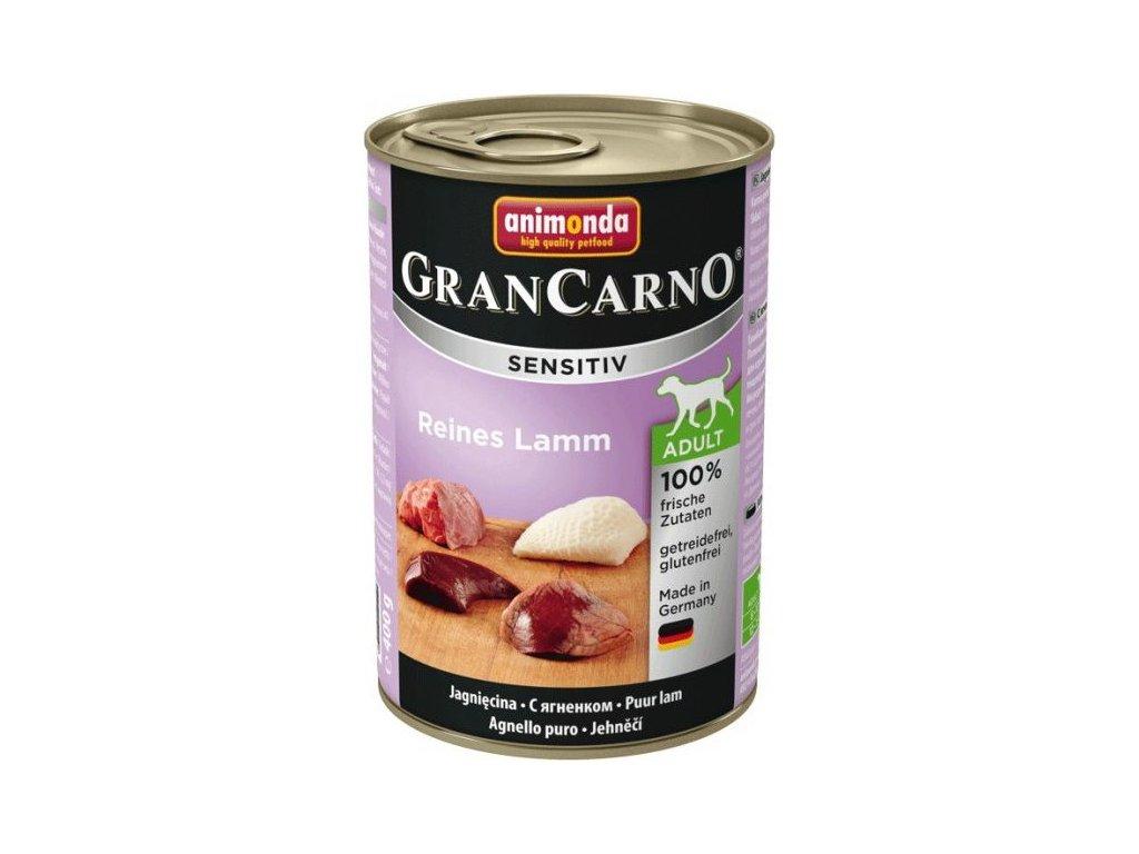 GRANCARNO Sensitiv čisté jehněčí 400 g