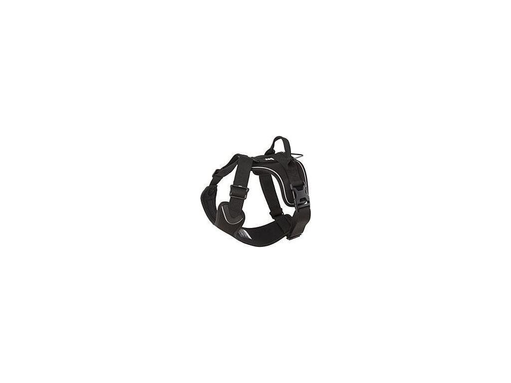Postroj Hurtta Active černý 100-120cm