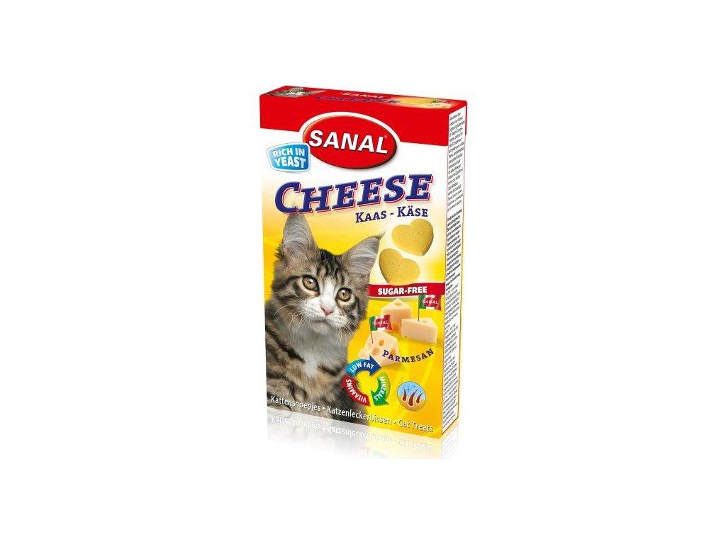 Sanal Cheese- tablety se sýrem 24g / 40 tbl.