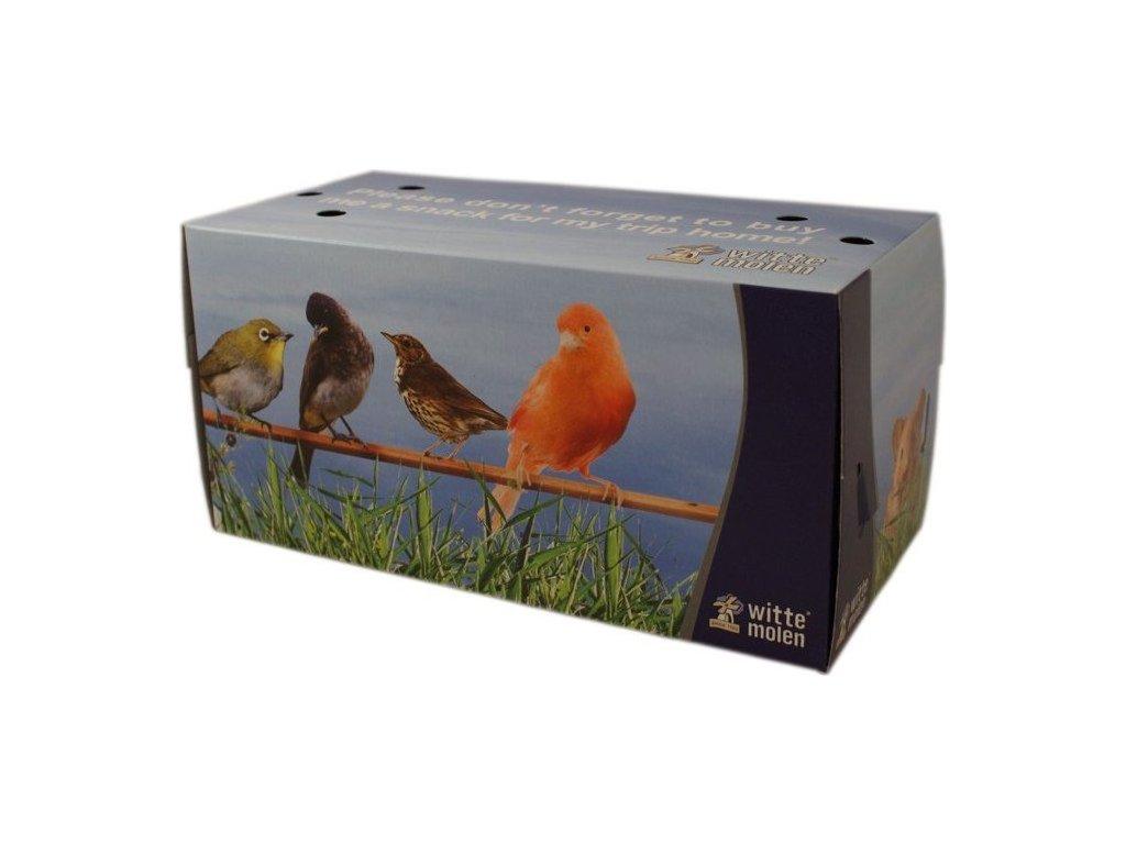 Transportní papírová krabička - velká 26x13x13 cm