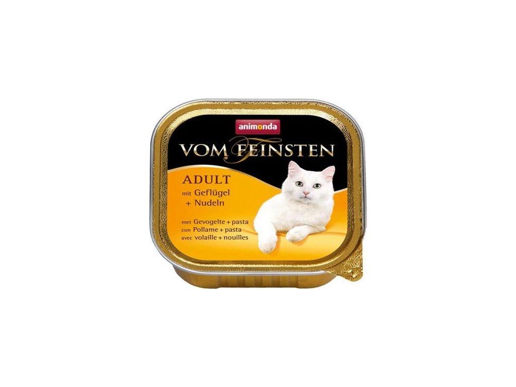ANIMONDA paštika ADULT - drůbež, těstoviny pro kočky 100g