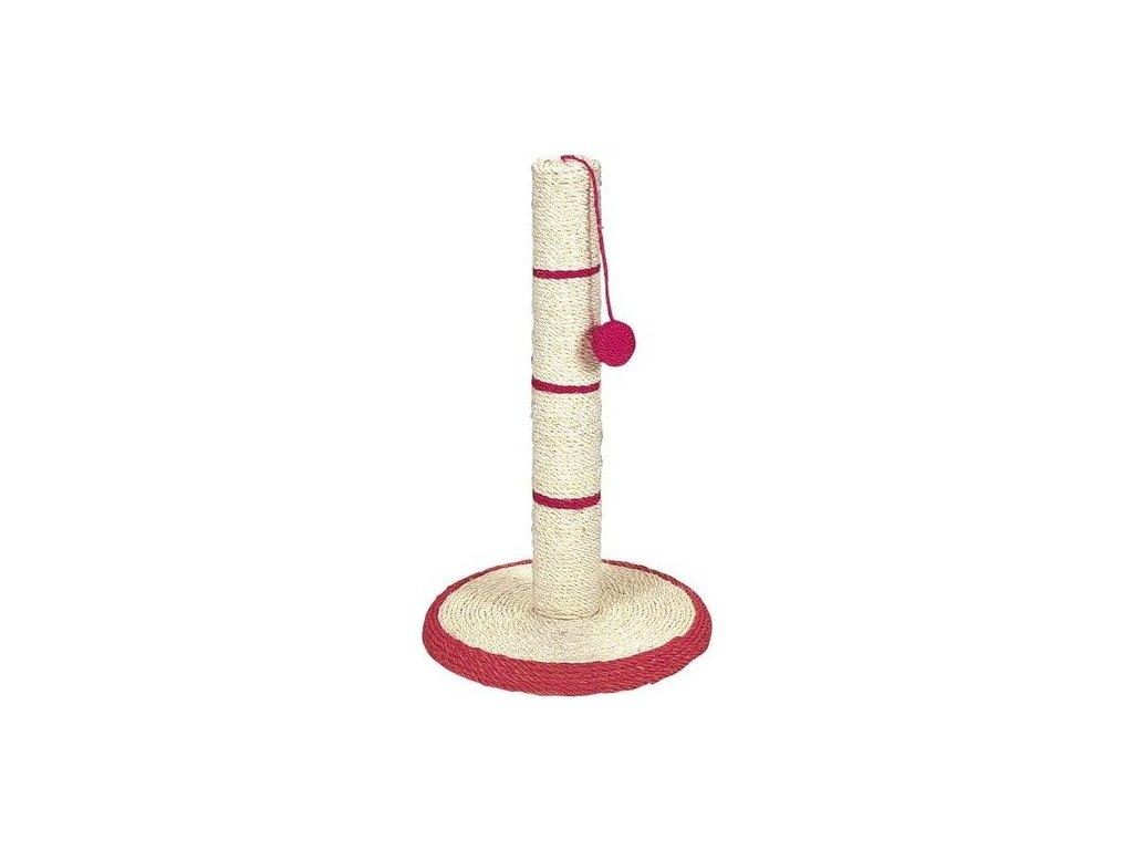 Sisalové škrábadlo s míčem 35c9x62cm