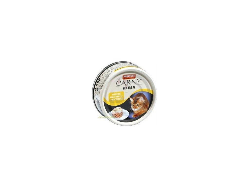 ANIMONDA konzerva CARNY Ocean - tuňák + křepelčí vejce 80g