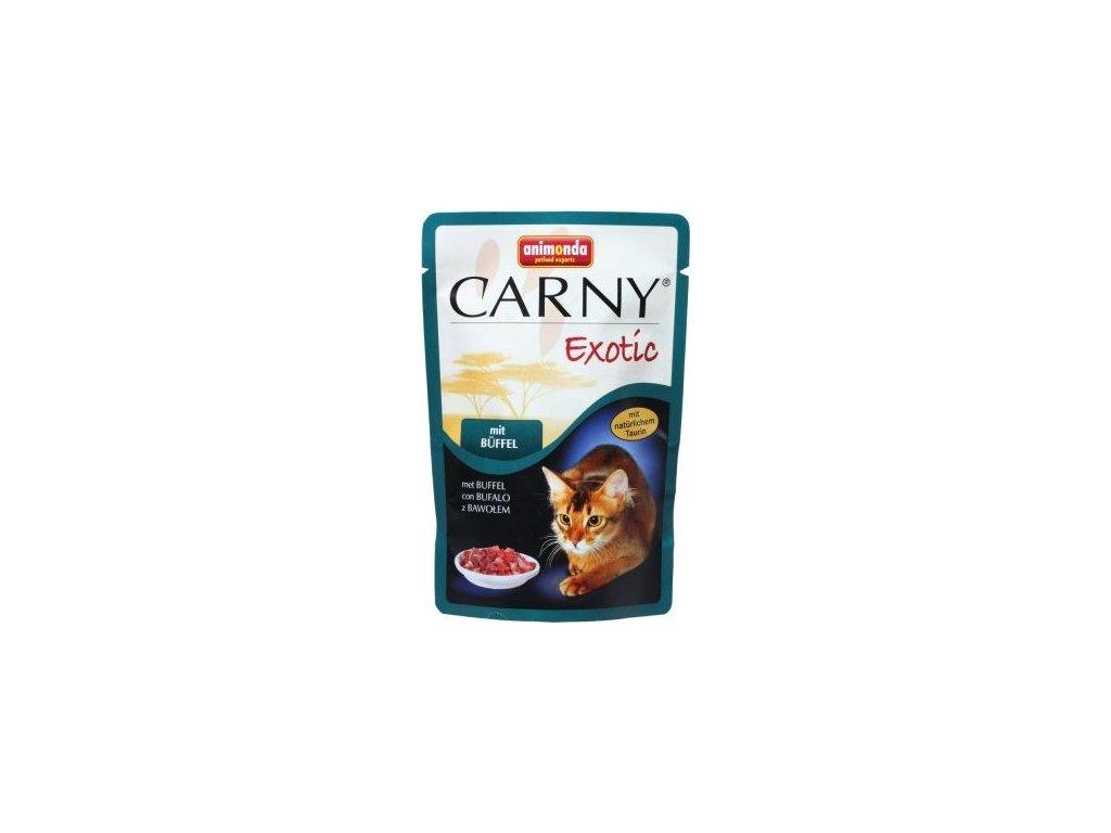 ANIMONDA kapsička CARNY EXOTIC s buvolem 85 g