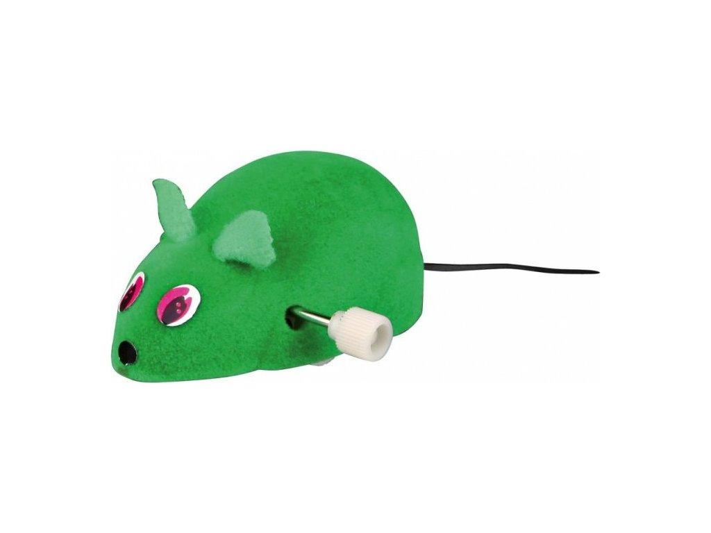 Natahovací plastová myš 7 cm