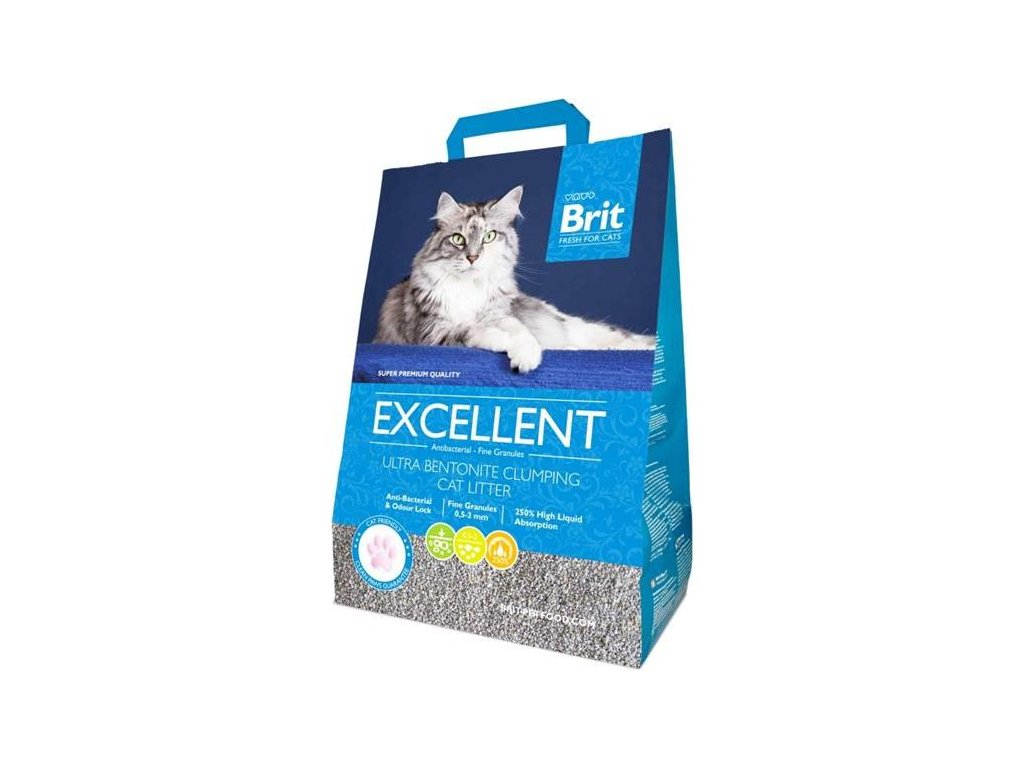 Podestýlka Cat Brit Fresh Excellent Ultra Bent. 10 kg