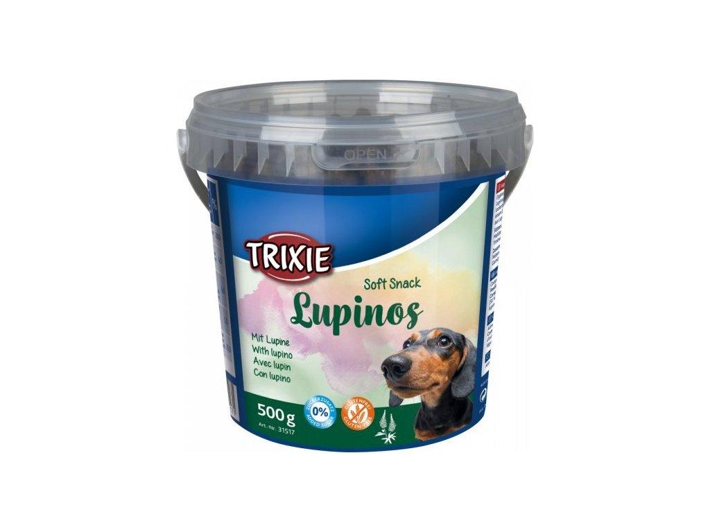 Soft Snack LUPINOS - bezlepkový snack, kyblík 500 g