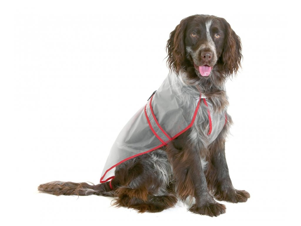 Pláštěnka pro psy PVC 38cm KAR