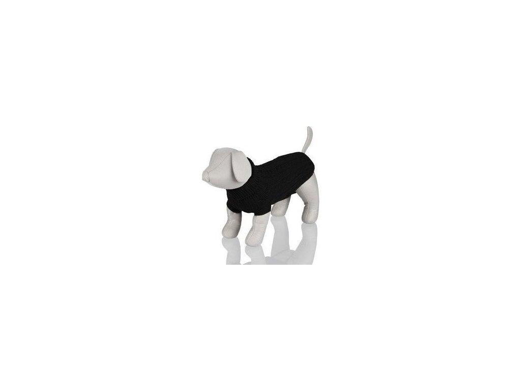 Černý svetr King of Dogs XS 25 cm
