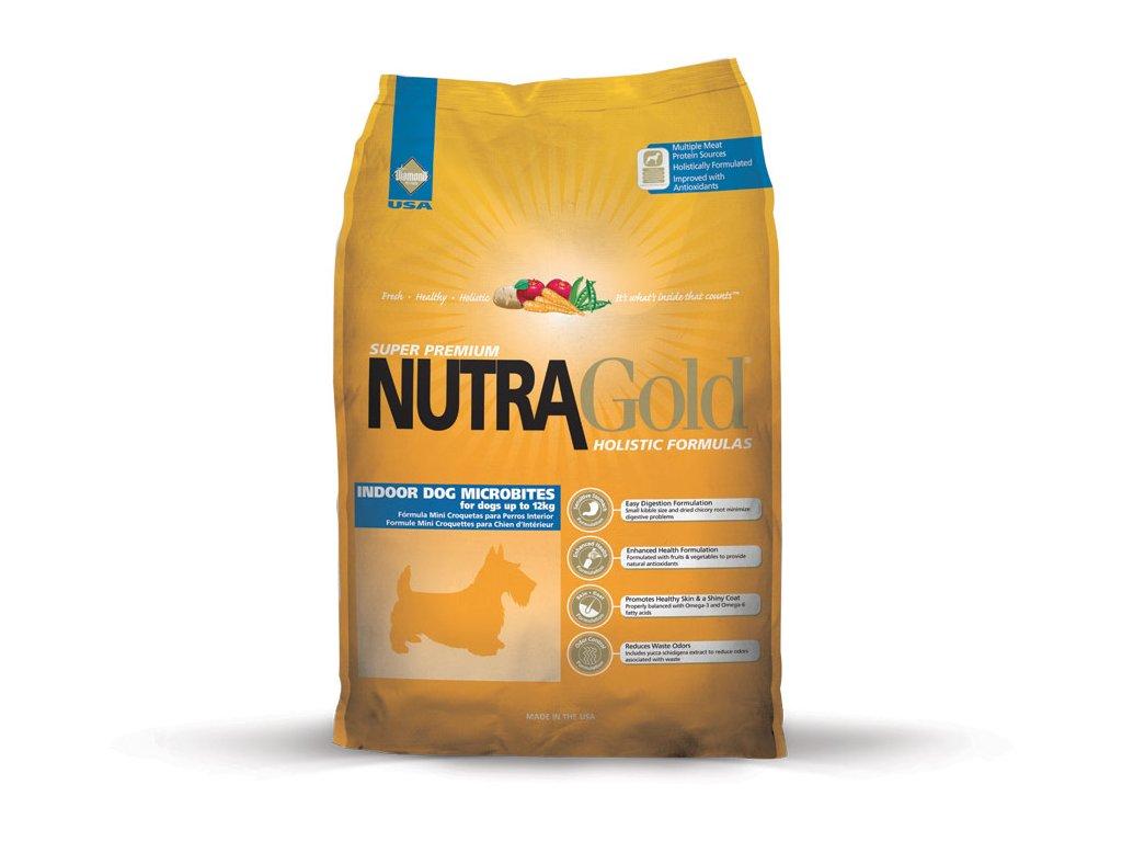 Nutra Gold Indoor Adult Dog - Micro Bite 7,5kg