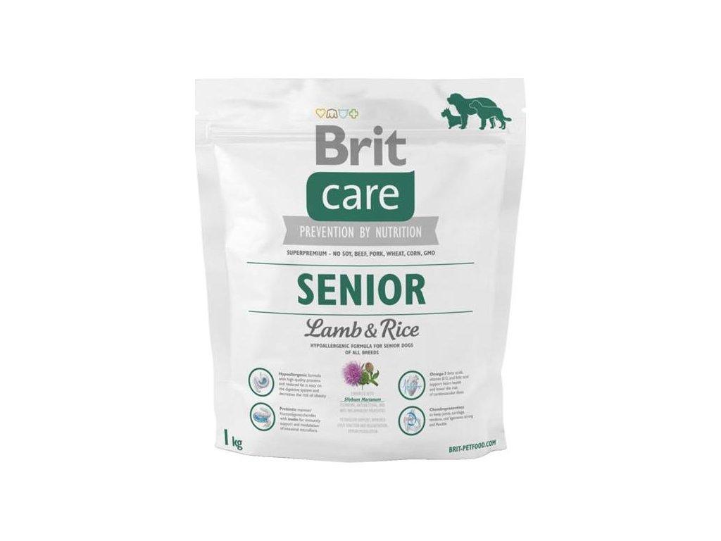 Brit Care Dog Senior Lamb & Rice NOVÝ 1 kg