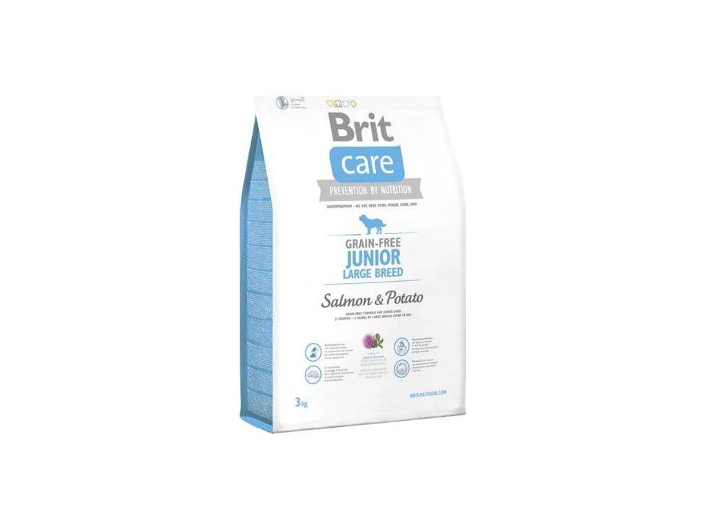 Brit Care Grain Free Dog Junior Large Breed S & P 3 kg