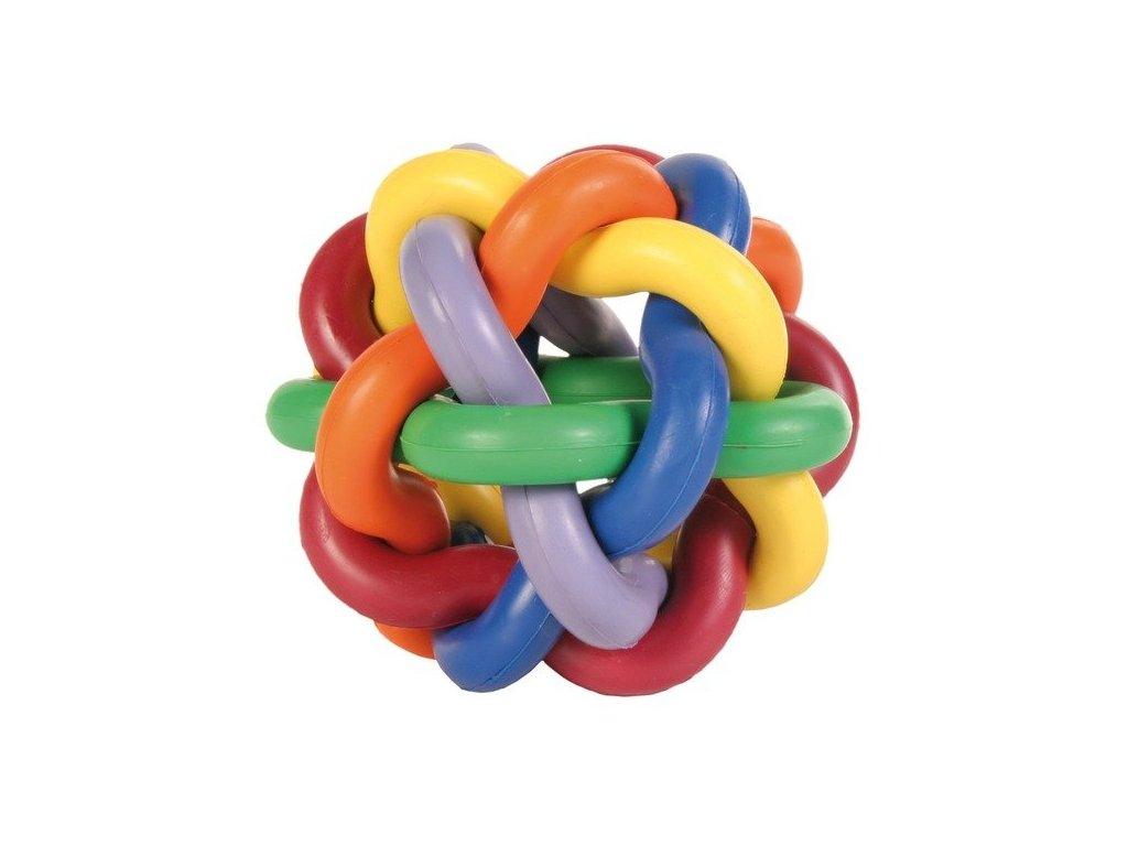 TRIXIE Míč tvrdá guma uzlíkový velký10cm