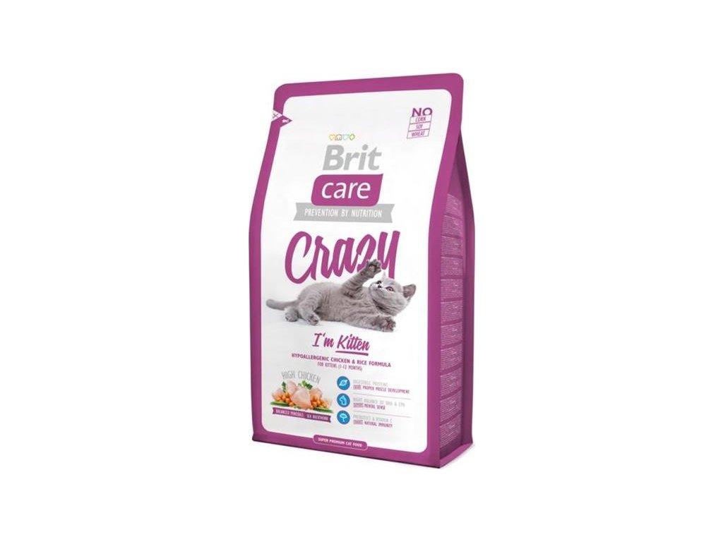 Brit Care Cat Crazy I´m Kitten 0,4 kg