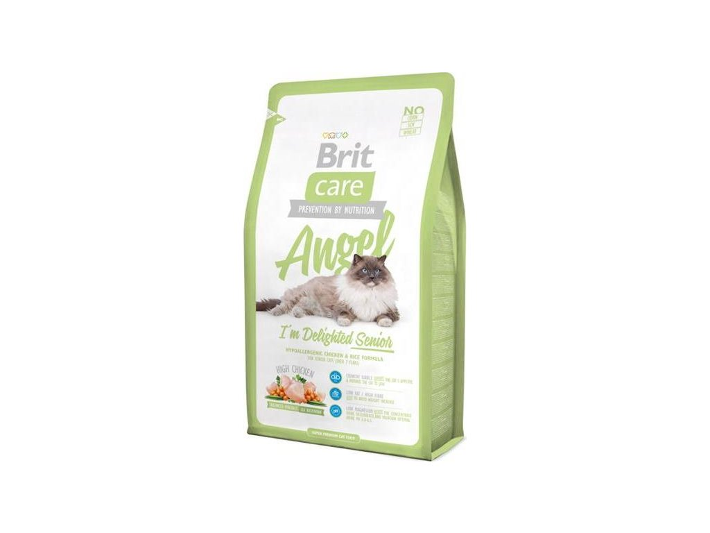 Brit Care Cat Angel I´m Delighted Senior 0,4 kg