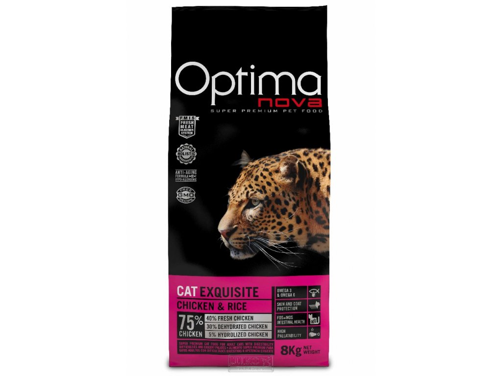 Visan OPTIMA nova CAT ADULT EXQUISITE 8kg