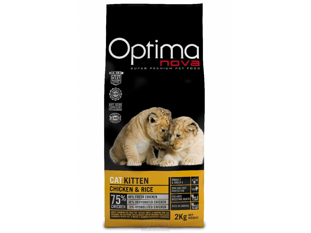 Visan OPTIMA nova CAT KITTEN 8kg