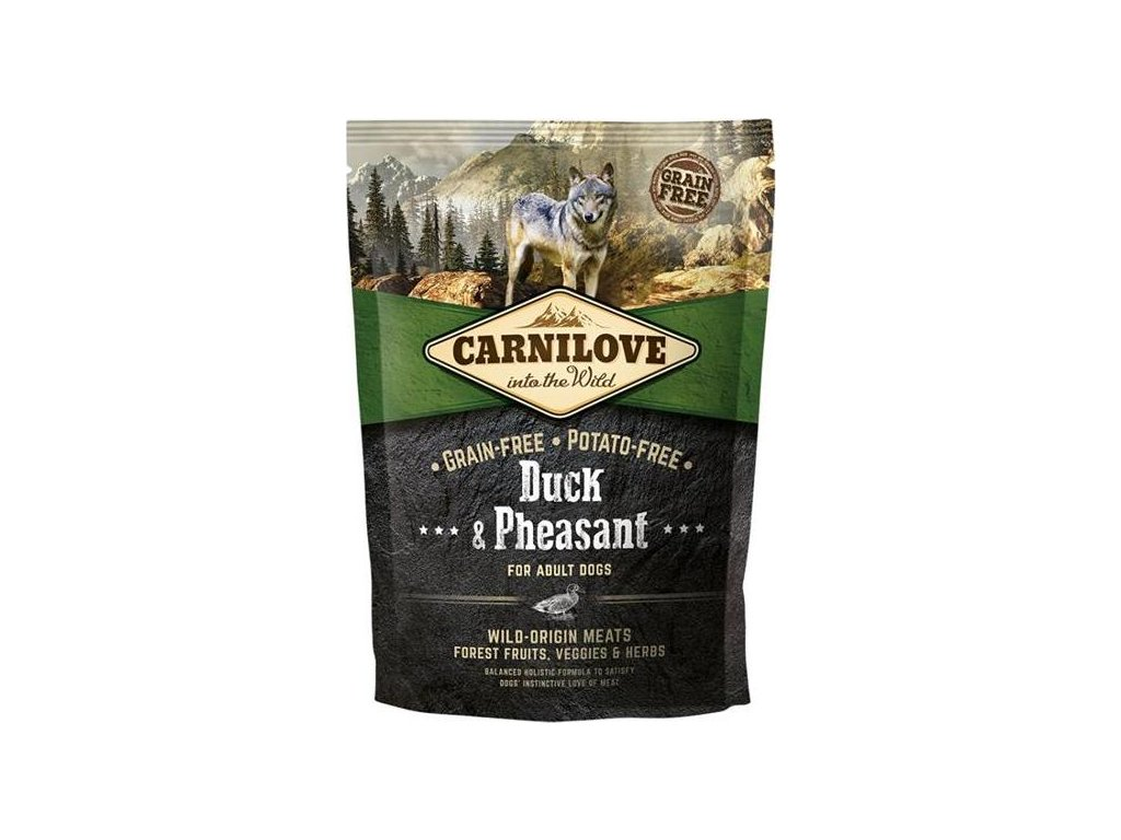 Carnilove Dog Adult Duck & Pheasant Grain Free 1,5 kg