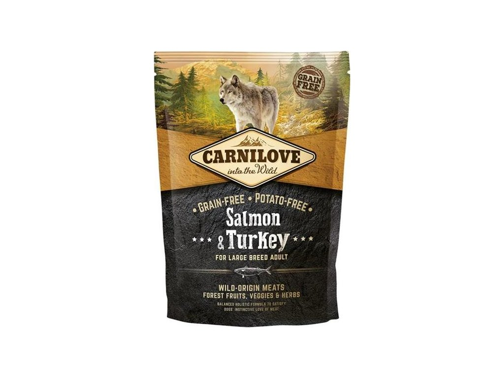 Carnilove Dog Adult Salm.& Turk. Large Breed GF 1,5 kg
