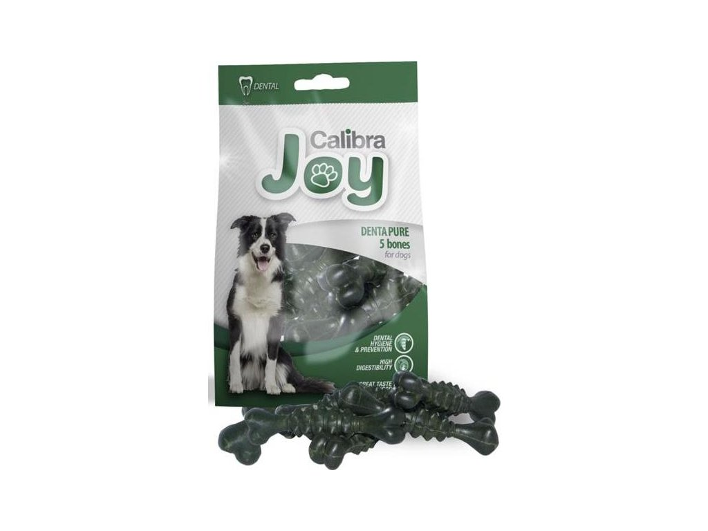 Calibra Dog Joy Denta Pure kostičky 90 g, 5 ks