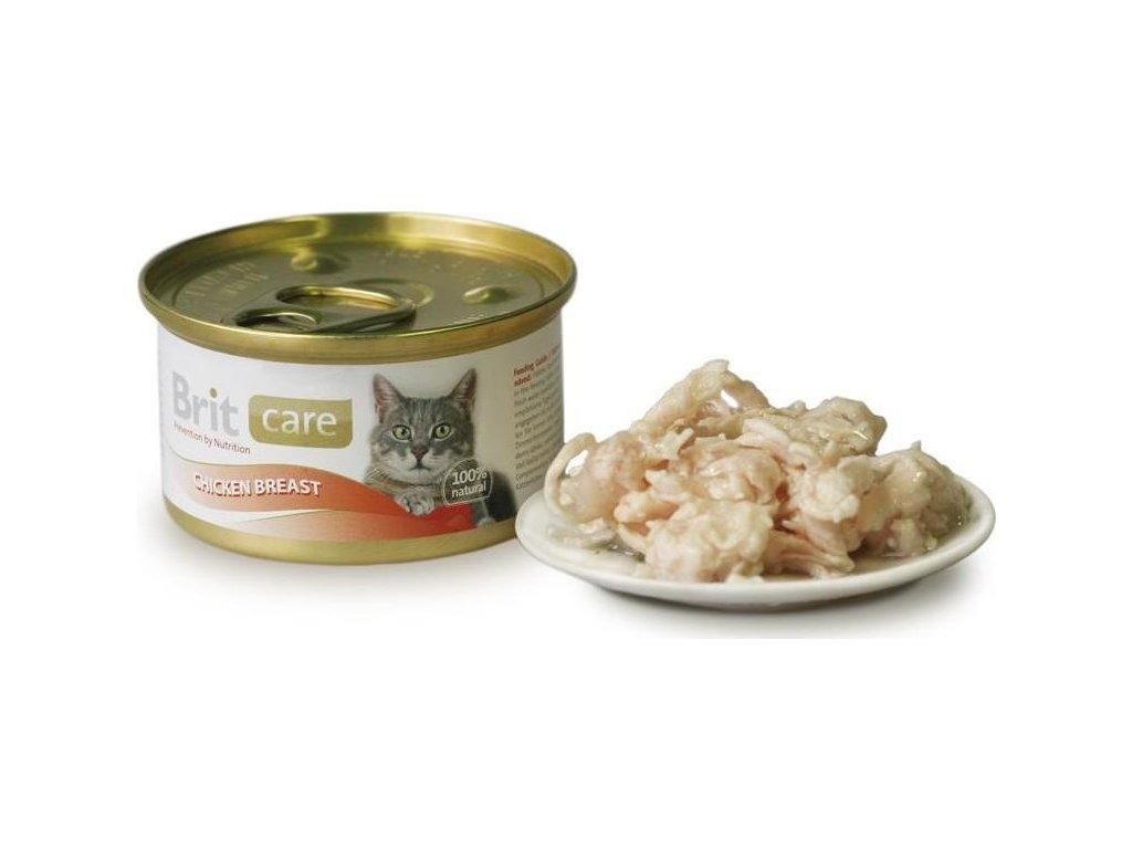 Brit Care Cat konz. - Chicken Breast 80 g