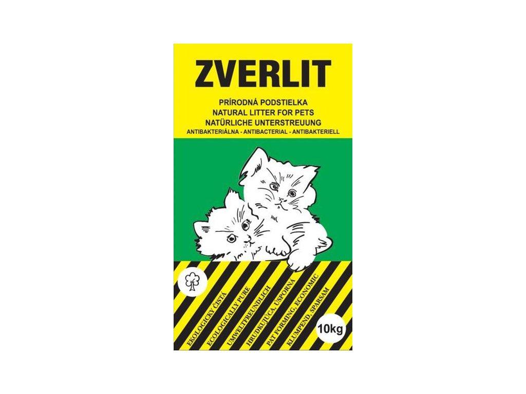 ZVERLIT zelený hrubá Podestýlka kočka 10kg