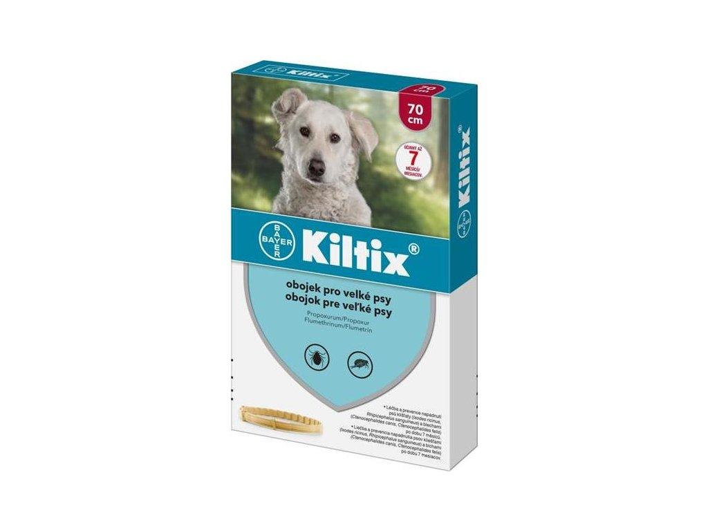 Kiltix 70 obojek (velký pes)