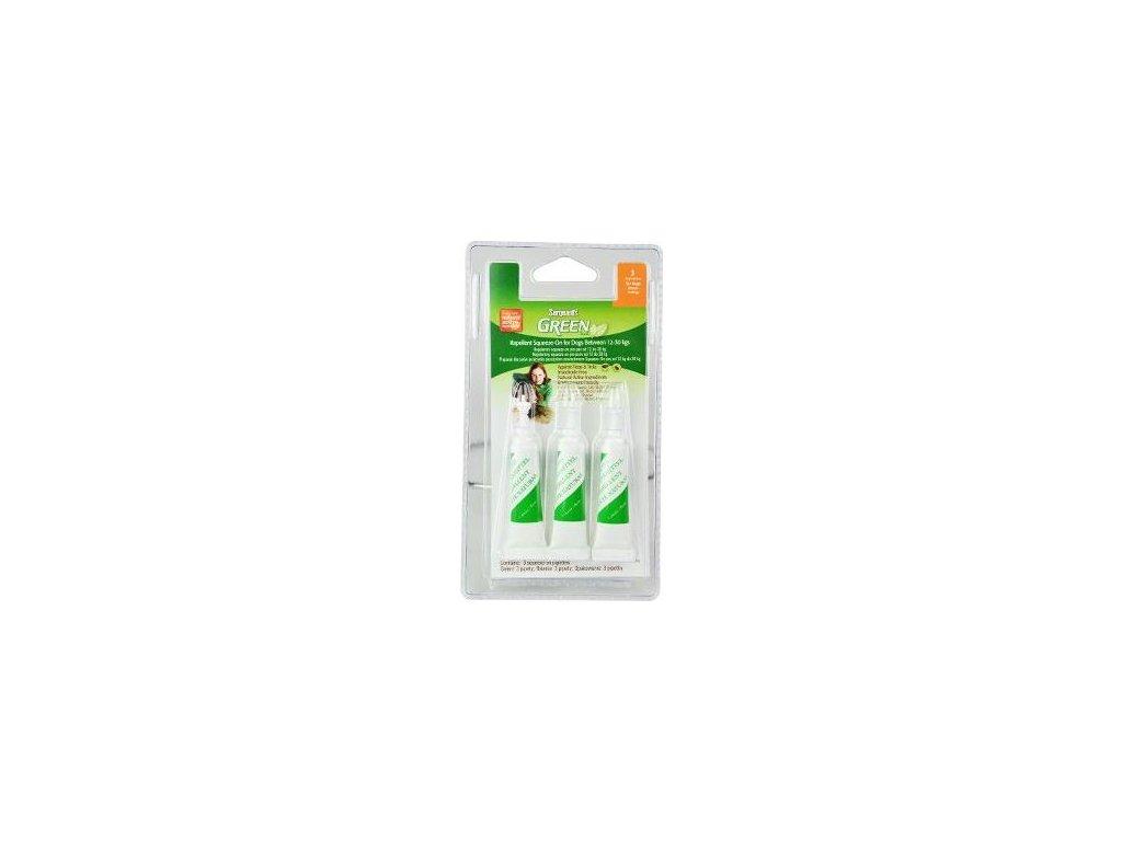 Sergeanťs Green spot on pro psy 12-30kg 3x3ml