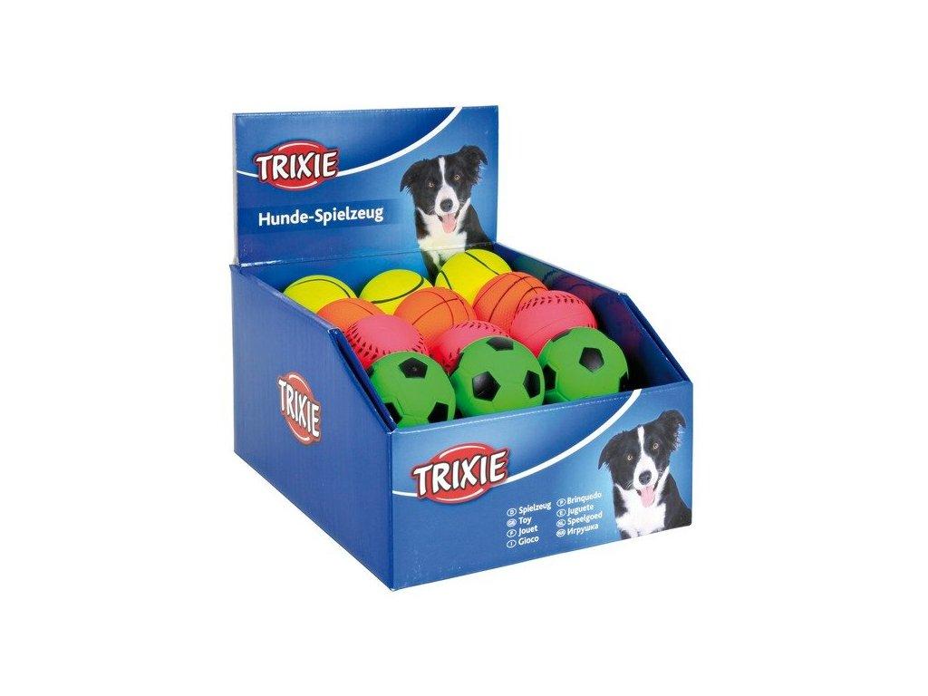 Trixie Sada 52 neónových míčů (28x4cm, 24x4,5cm)