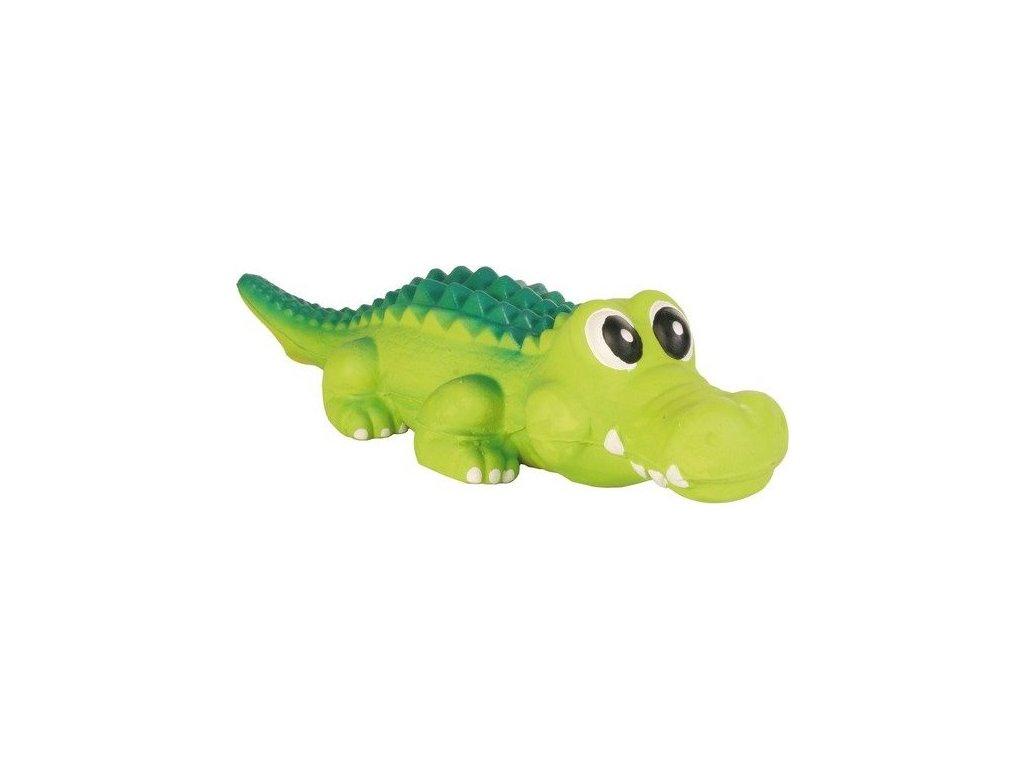 Krokodýl-pevný latex 35cm TRIXIE