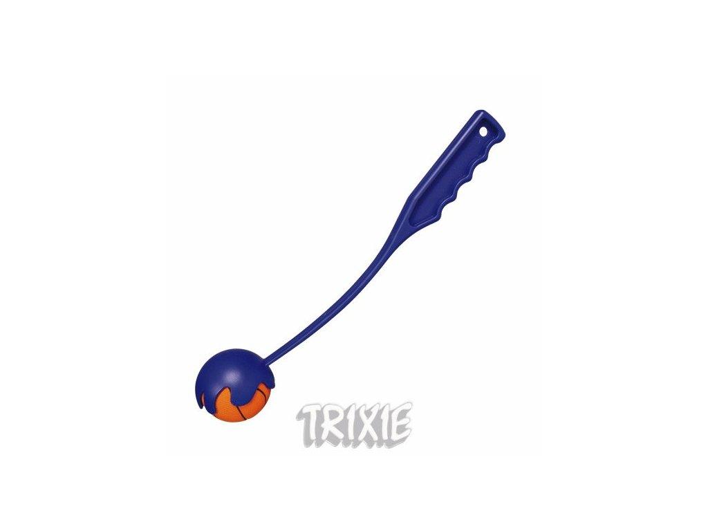 Trixie Katapult MINI s mechovým míčem 6cm/30cm TRIXIE