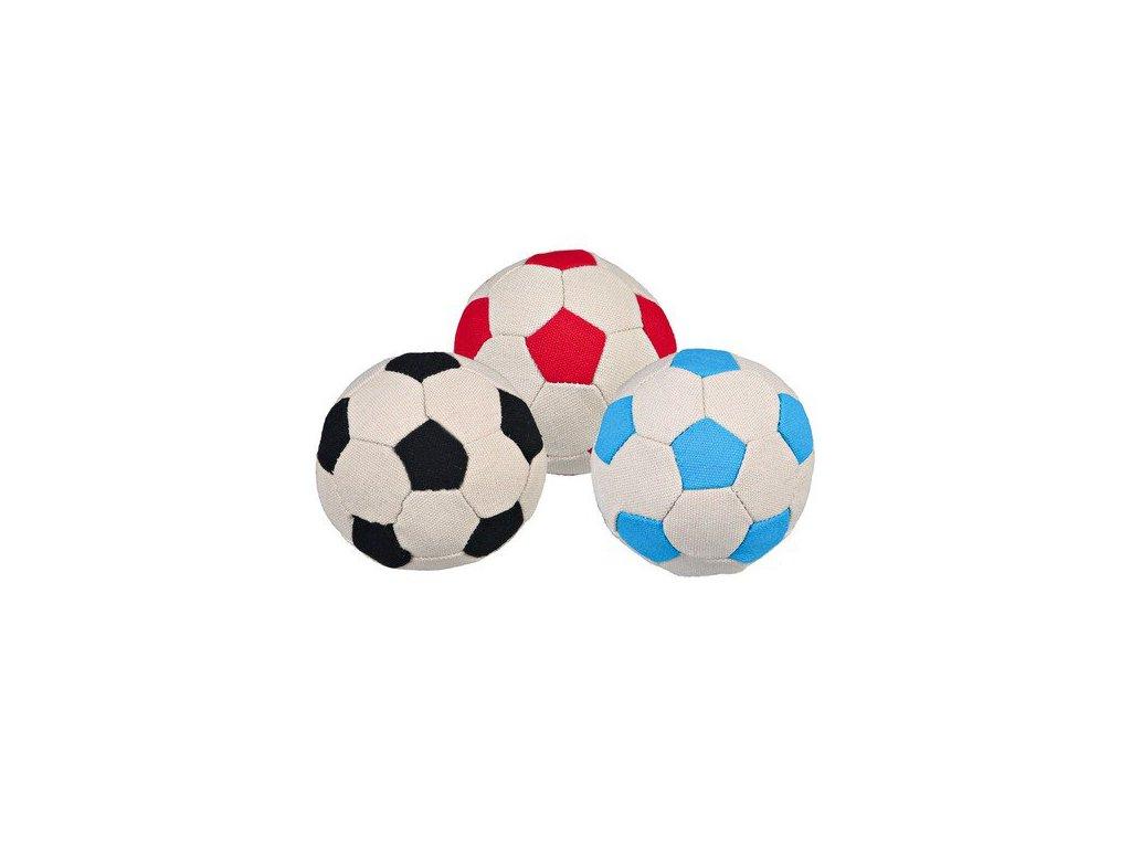 Trixie Fotbalový míč (plátno, plněn molitanem) 6cm TRIXIE