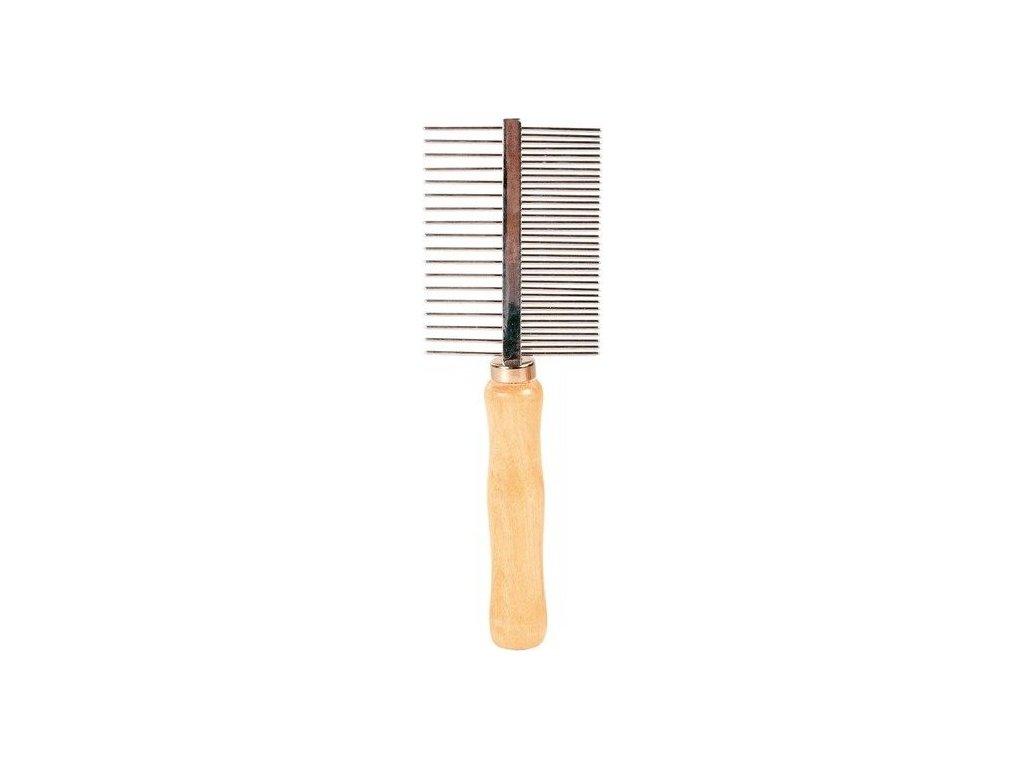 ENGLAND oboustranný, dřevěná rukojeť 17 cm